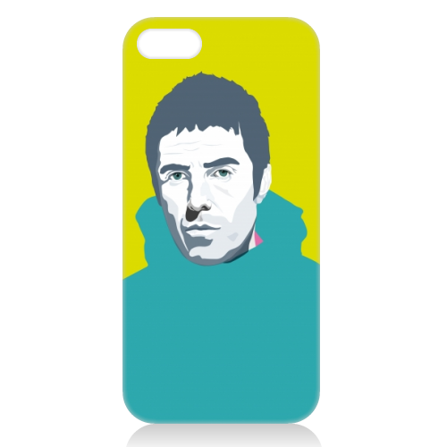 Liam Gallagher Oasis Wonderwall British Music Artist Rocker - unique phone case by SABI KOZ