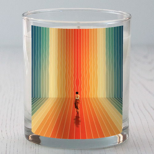70s Summer Vibes - Candle by taudalpoi