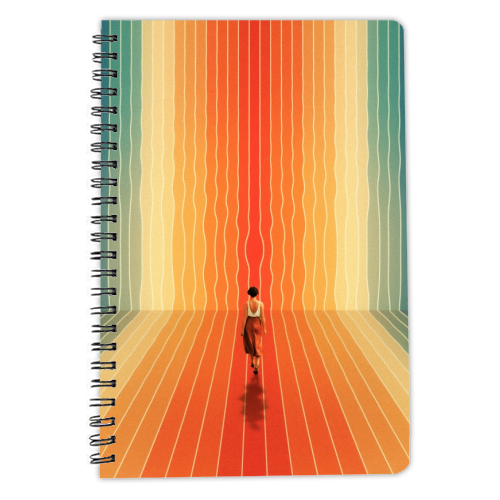 70s Summer Vibes - designed notebook by taudalpoi
