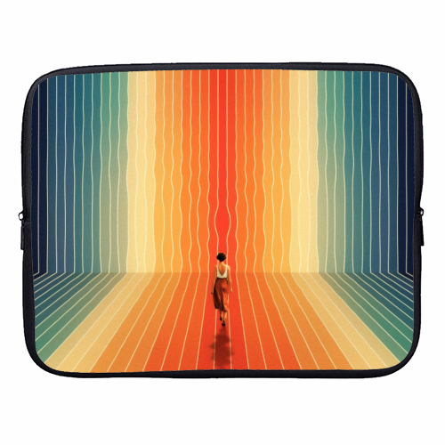 70s Summer Vibes - designer laptop sleeve by taudalpoi