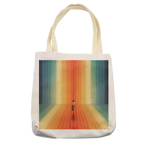 70s Summer Vibes - printed tote bag by taudalpoi