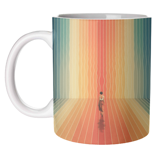 70s Summer Vibes - unique mug by taudalpoi