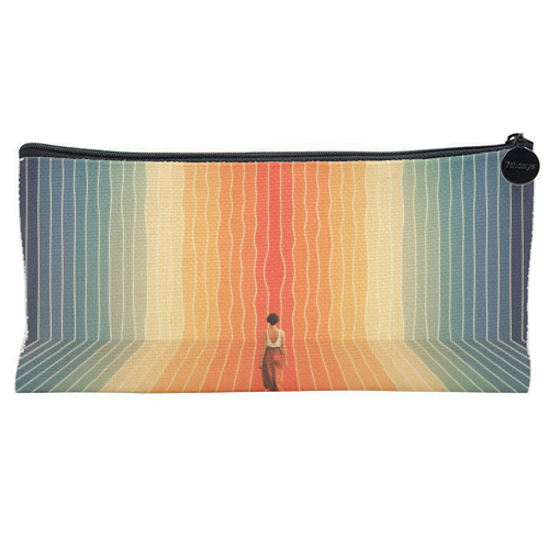 70s Summer Vibes - unique pencil case by taudalpoi