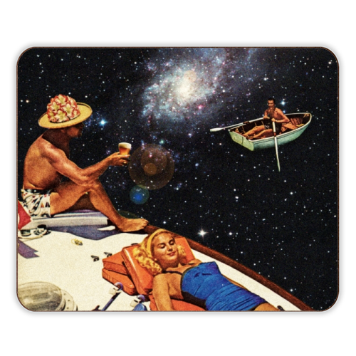 Space Boat Party - photo placemat by taudalpoi