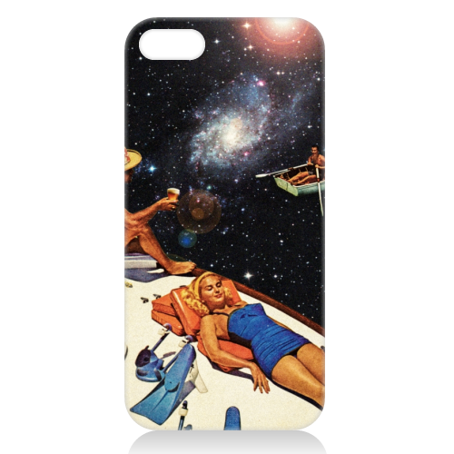 Space Boat Party - unique phone case by taudalpoi