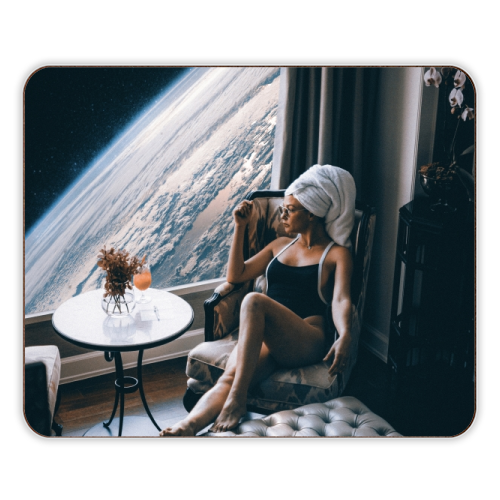 Lady Universe - photo placemat by taudalpoi