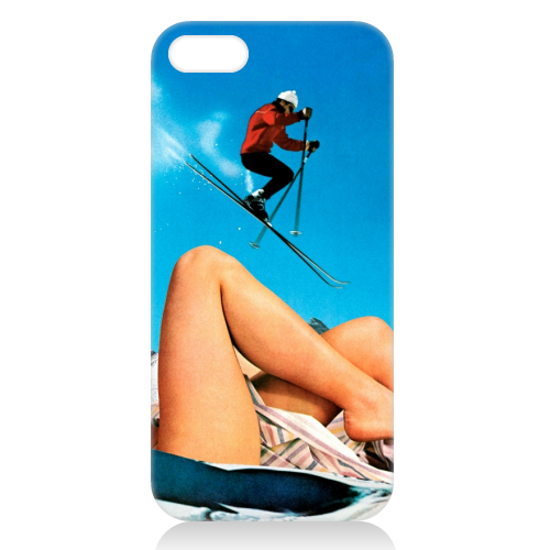 Ski Jump - unique phone case by taudalpoi