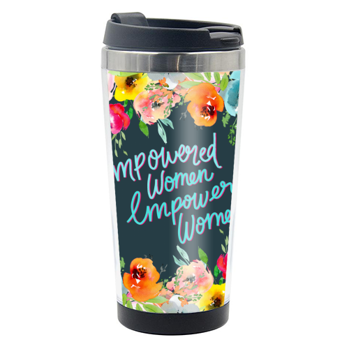 Empowered Women, Empower Women - travel water bottle by Hollie Mills
