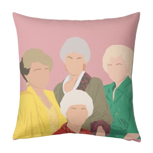 The Golden Girls - designed cushion by Cheryl Boland