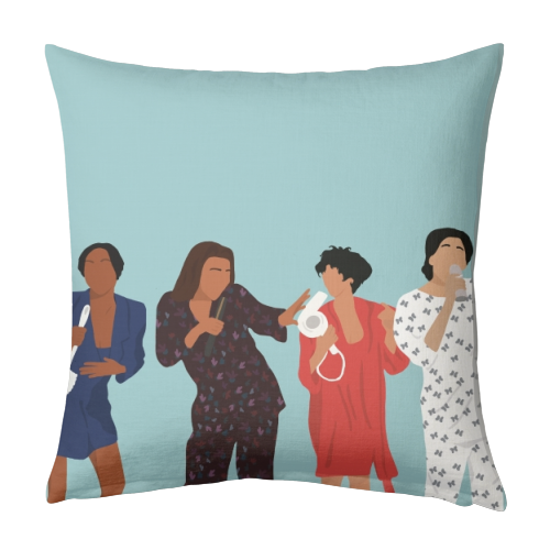 Living Single - designed cushion by Cheryl Boland