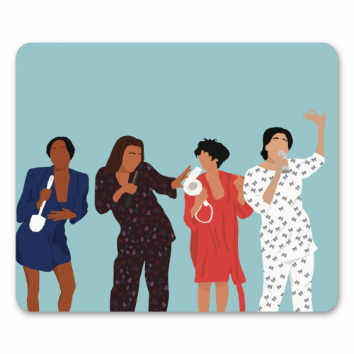Living Single - personalised mouse mat by Cheryl Boland