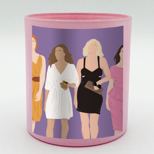 Sex and the city - Candle by Cheryl Boland