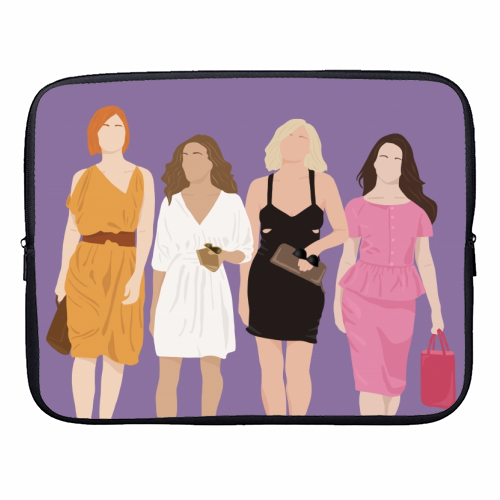 Sex and the city - designer laptop sleeve by Cheryl Boland