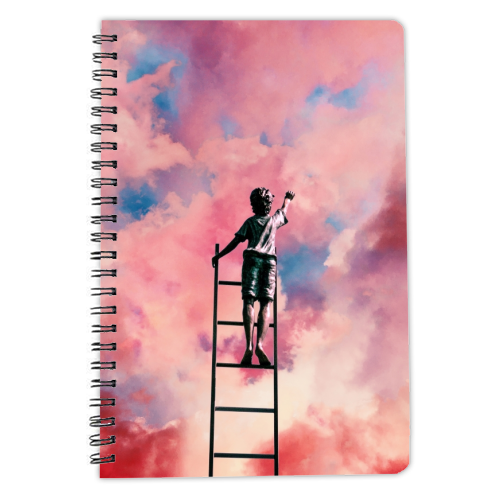 Cloud Painter - designed notebook by taudalpoi