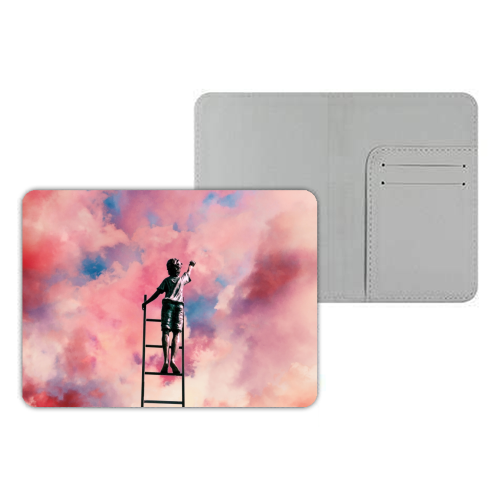 Cloud Painter - designer passport cover by taudalpoi