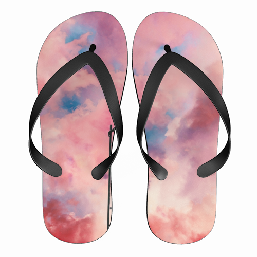 Cloud Painter - funny flip flops by taudalpoi