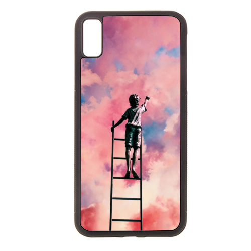 Cloud Painter - Rubber phone case by taudalpoi