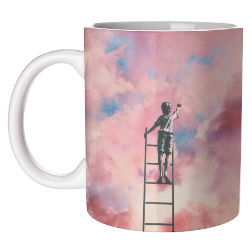 Cloud Painter - unique mug by taudalpoi