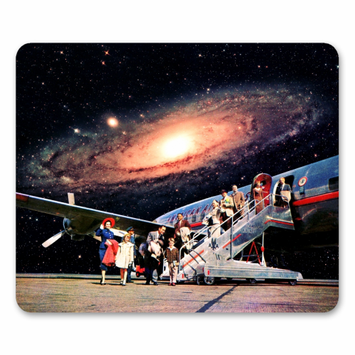 Just Arrived From Space - personalised mouse mat by taudalpoi