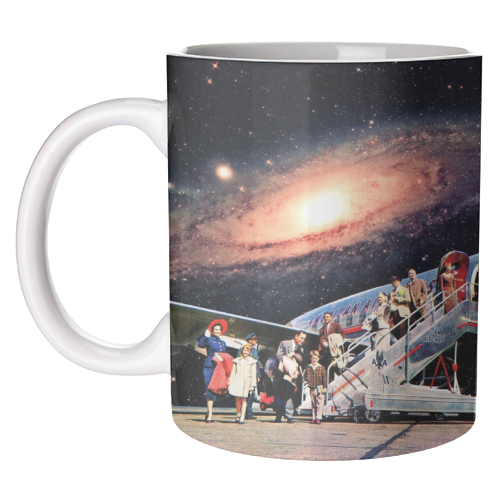 Just Arrived From Space - unique mug by taudalpoi