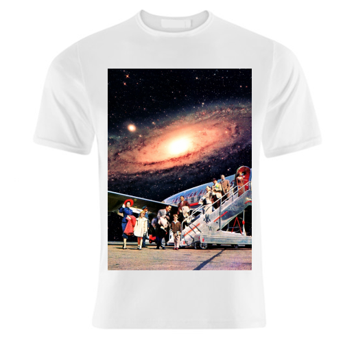 Just Arrived From Space - unique t shirt by taudalpoi