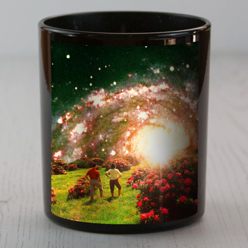 Galactic Botanical Gardens - Candle by taudalpoi