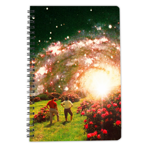 Galactic Botanical Gardens - designed notebook by taudalpoi