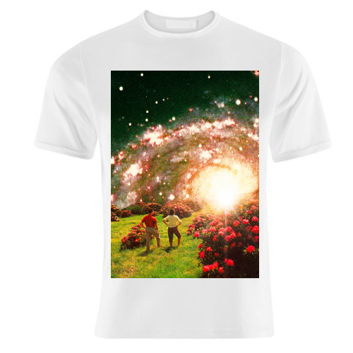 Galactic Botanical Gardens - unique t shirt by taudalpoi