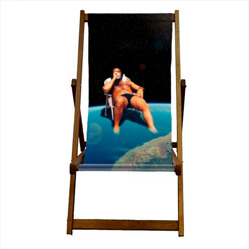 And On The 7th Day ... - canvas deck chair by taudalpoi