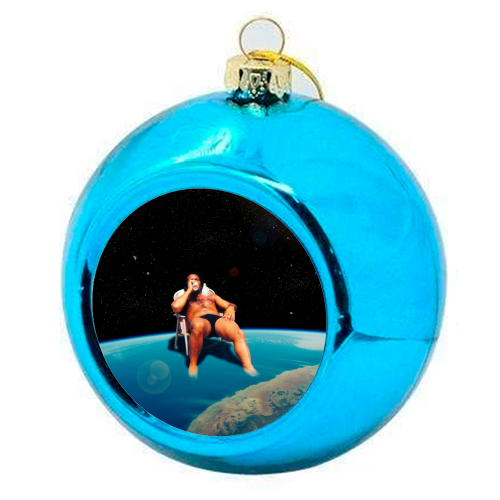 And On The 7th Day ... - colourful christmas bauble by taudalpoi