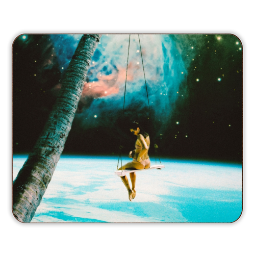 Hanging Out In Space - photo placemat by taudalpoi