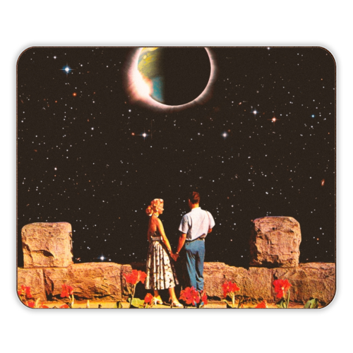 Lovers In Space - photo placemat by taudalpoi