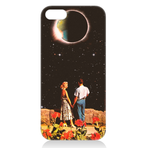 Lovers In Space - unique phone case by taudalpoi