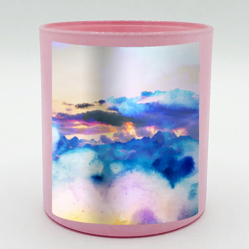 Dreamy Nature - Candle by Uma Prabhakar Gokhale