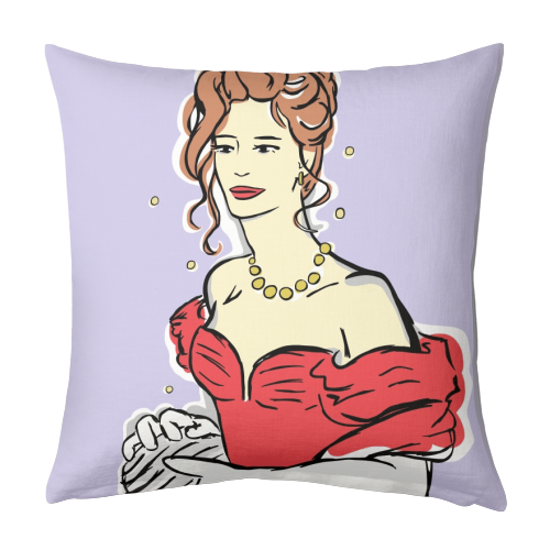 Vivian - designed cushion by Bec Broomhall