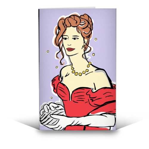 Vivian - funny greeting card by Bec Broomhall