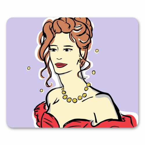 Vivian - personalised mouse mat by Bec Broomhall