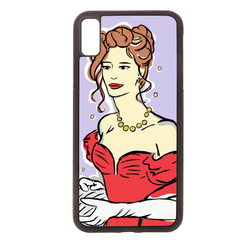 Vivian - Rubber phone case by Bec Broomhall