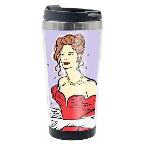 Vivian - travel water bottle by Bec Broomhall