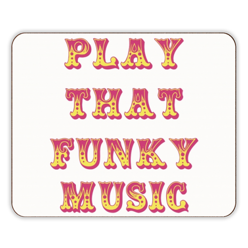 Funky - photo placemat by Cheryl Boland