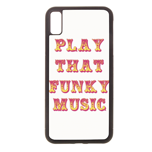 Funky - Rubber phone case by Cheryl Boland