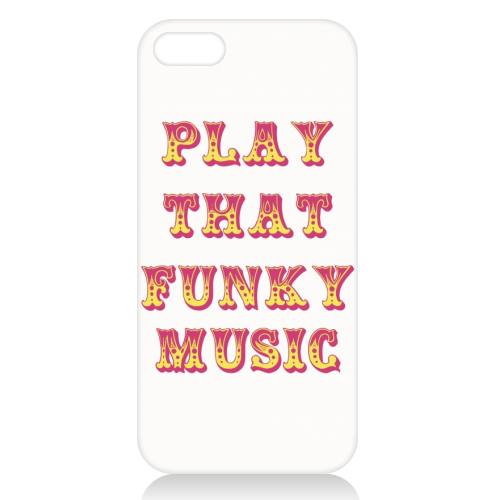 Funky - unique phone case by Cheryl Boland
