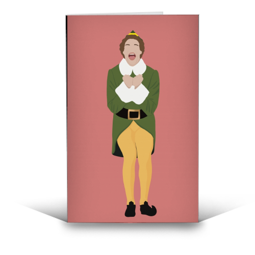 Buddy the Elf - funny greeting card by Cheryl Boland