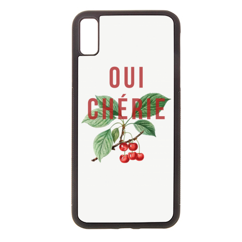 Oui Cherie - Rubber phone case by The 13 Prints