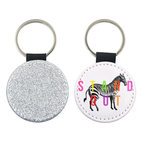 Stand Out - personalised picture keyring by The 13 Prints