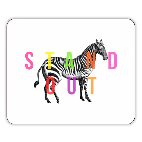Stand Out - photo placemat by The 13 Prints