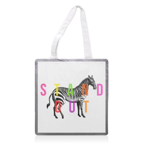 Stand Out - printed tote bag by The 13 Prints