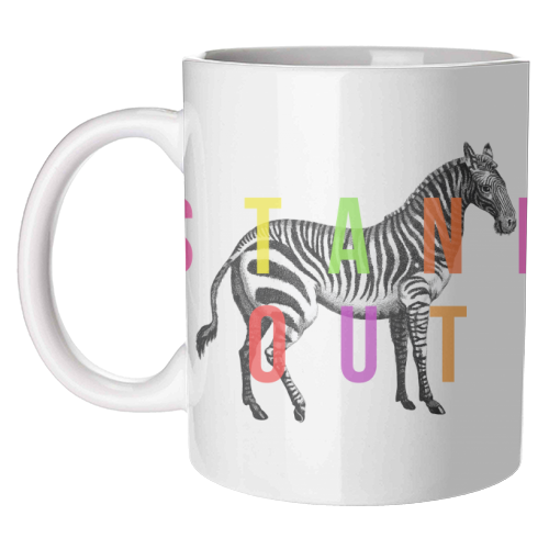 Stand Out - unique mug by The 13 Prints