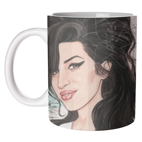Amy - unique mug by Helen Green