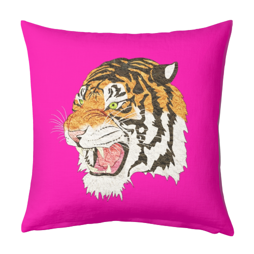 Easy Tiger - designed cushion by Wallace Elizabeth
